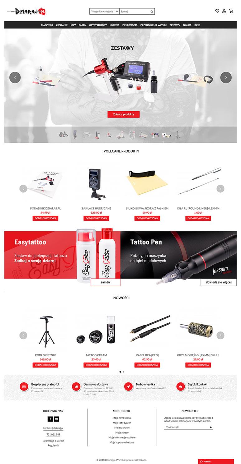 Tworzenie sklepów internetowych Prestashop